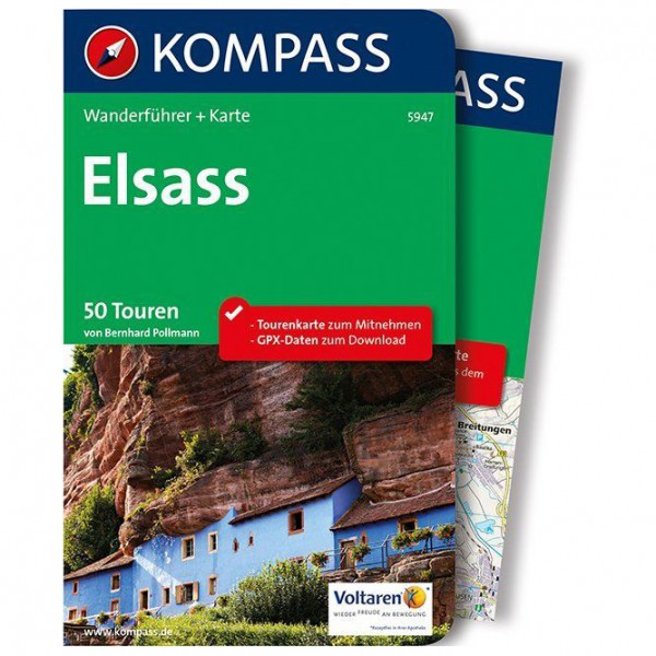 Kompass - Elsass - Walking guide book