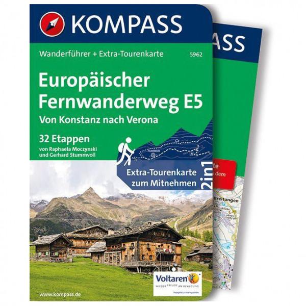 Kompass - Europäischer Fernwanderweg E5 - Wandelgids