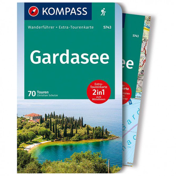 Kompass - Gardasee - Vandringsguider
