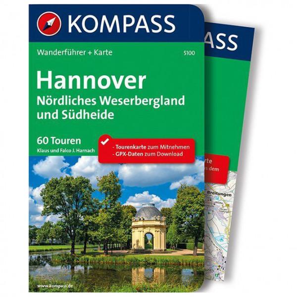 Kompass - Hannover - Nördliches Weserbergland und Südheide - Walking guide book