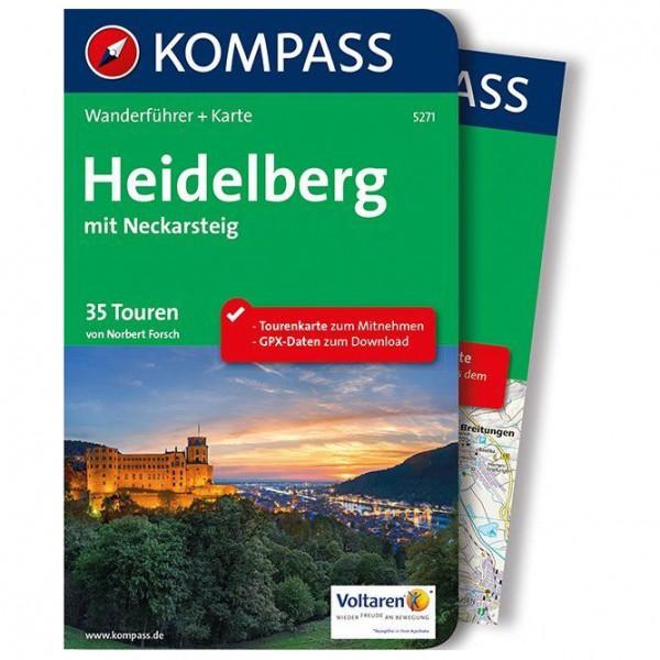 Kompass - Heidelberg mit Neckarsteig - Walking guide book