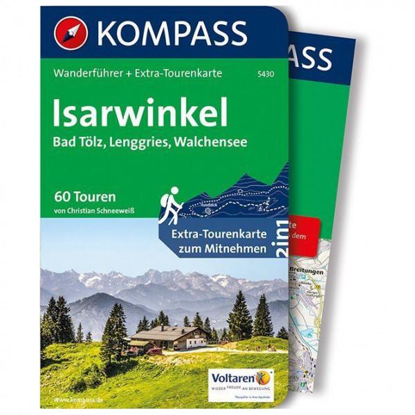 Kompass - Isarwinkel, Bad Tölz, Lenggries, Walchensee - Wandelgidsen