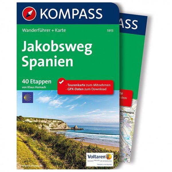 Kompass - Jakobsweg Spanien - Walking guide book