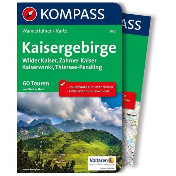 Kompass - Kaisergebirge - Vandringsguider