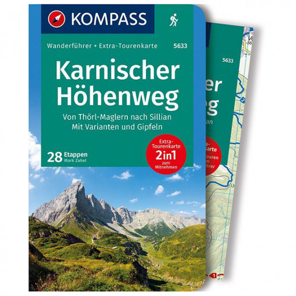 Kompass - Karnischer Höhenweg - Walking guide book