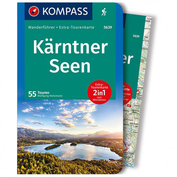 Kompass - Kärntner Seen - Walking guide book