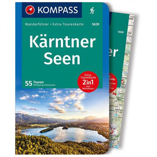 Kompass - Kärntner Seen - Wanderführer