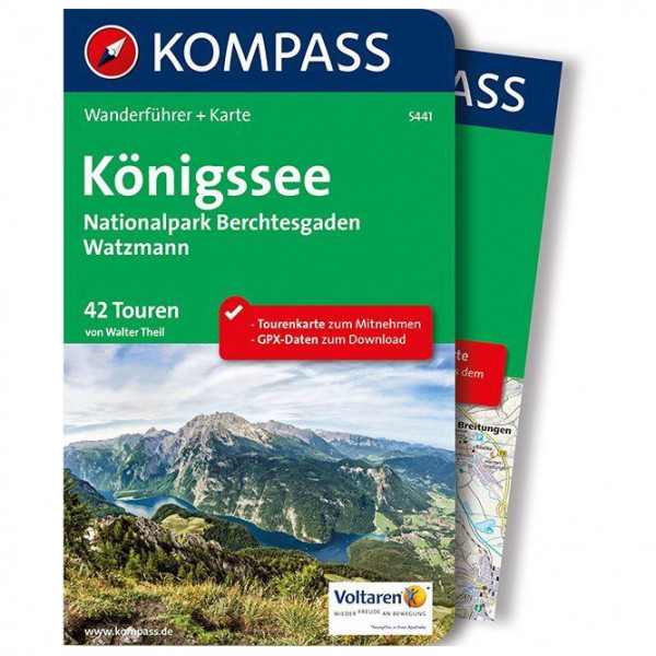 Kompass - Königssee, Nationalpark Berchtesgaden - Walking guide book