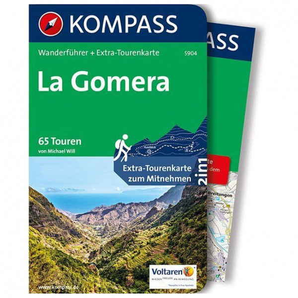 Kompass - La Gomera - Wandelgidsen