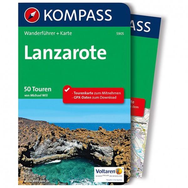 Kompass - Lanzarote - Vandringsguider