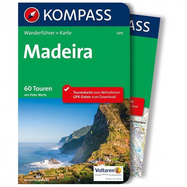 Kompass - Madeira - Walking guide book