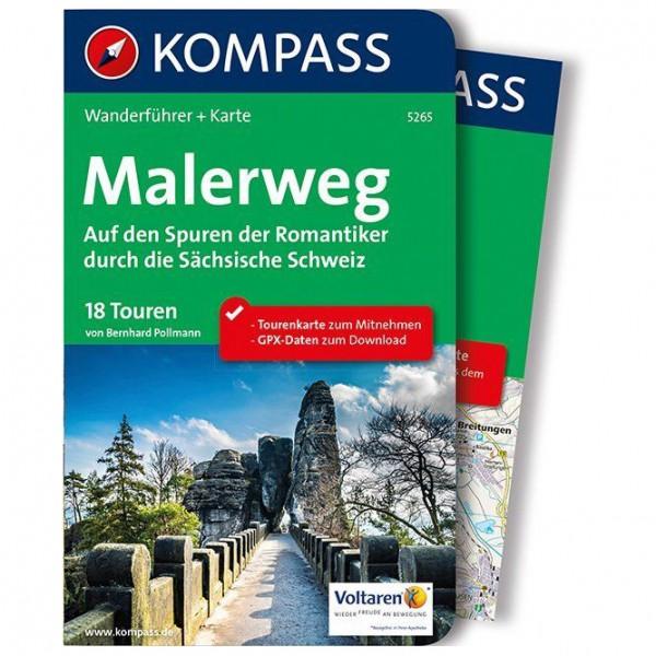 Kompass - Malerweg - Auf den Spuren der Romantiker - Vandreguides