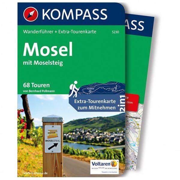 Kompass - Mosel mit Moselsteig - Walking guide book
