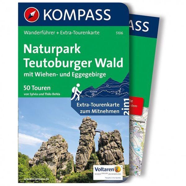 Kompass - Naturpark Teutoburger Wald mit Wiehen - Vandringsguider