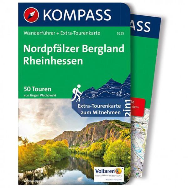 Kompass - Nordpfälzer Bergland, Rheinhessen - Walking guide book