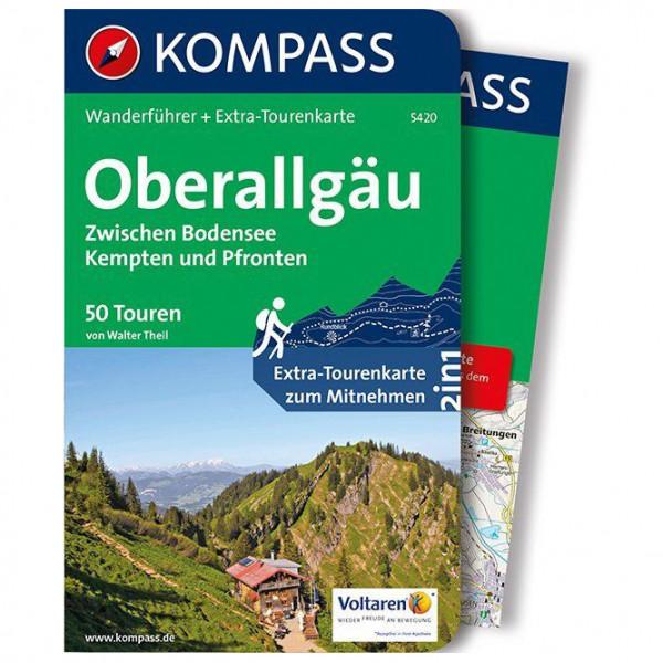 Kompass - Oberallgäu, Zwischen Bodensee - Walking guide book