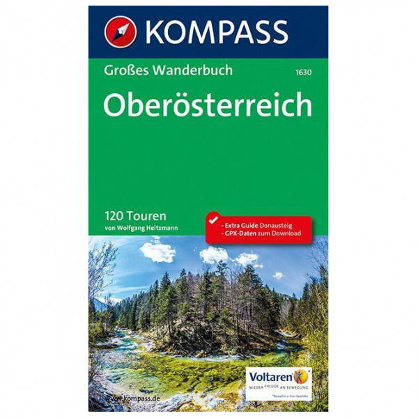 Kompass - Oberösterreich - Walking guide book