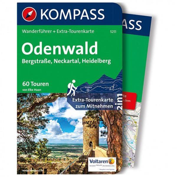 Kompass - Odenwald - Walking guide book