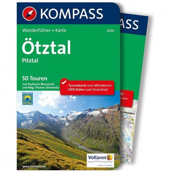 Kompass - Ötztal, Pitztal - Wanderführer