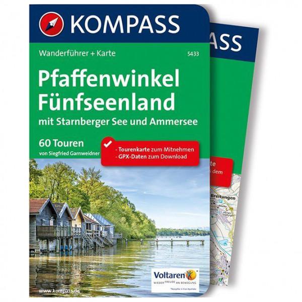Kompass - Pfaffenwinkel, Fünfseenland, Starnberger See - Vandringsguider