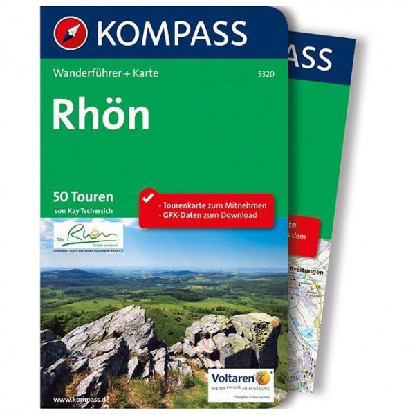 Kompass - Rhön - Walking guide book