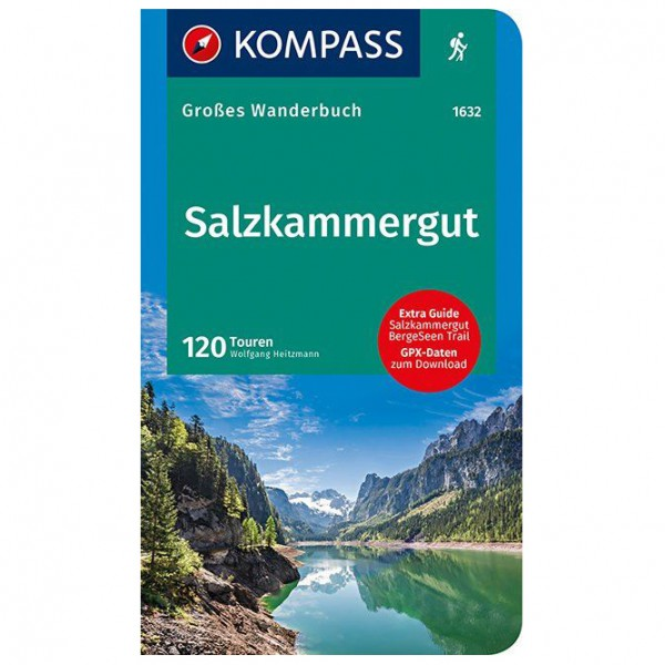 Kompass - Salzkammergut - Walking guide book