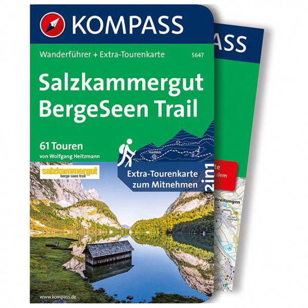 Kompass - Salzkammergut BergeSeen Trail - Walking guide book