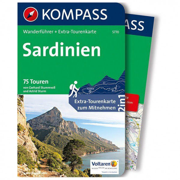 Kompass - Sardinien - Walking guide book