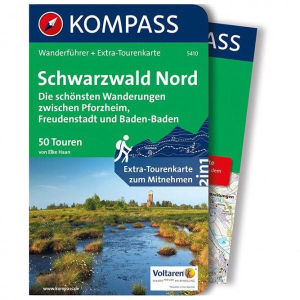 Kompass - Schwarzwald Nord die schönsten Wanderungen - Wandelgidsen