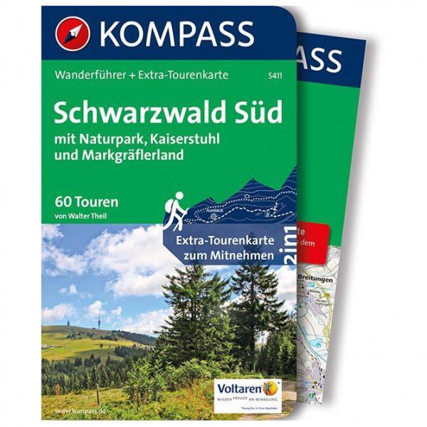Kompass - Schwarzwald Süd mit Naturpark - Walking guide book
