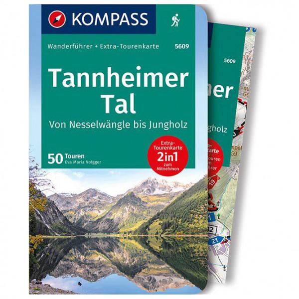 Kompass - Tannheimer Tal von Nesselwängle bis Jungholz - Walking guide book