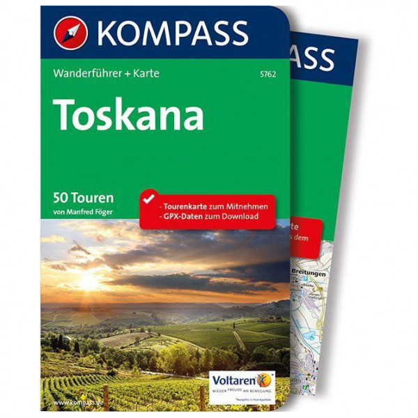 Kompass - Toskana - Vandreguides