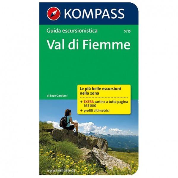 Kompass - Val di Fiemme, italienische Ausgabe - Wandelgidsen
