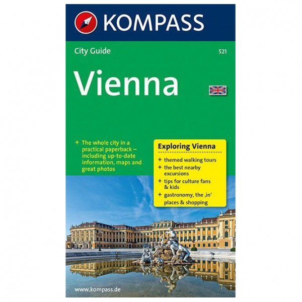 Kompass - Vienna - Walking guide book