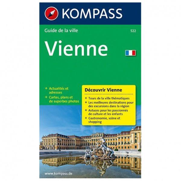 Kompass - Vienne - Walking guide book