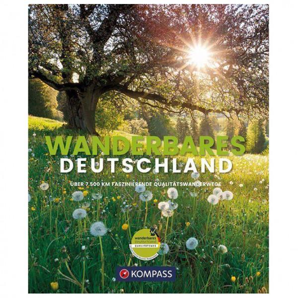 Kompass - Wanderbildband Wanderbares Deutschland - Vandreguides
