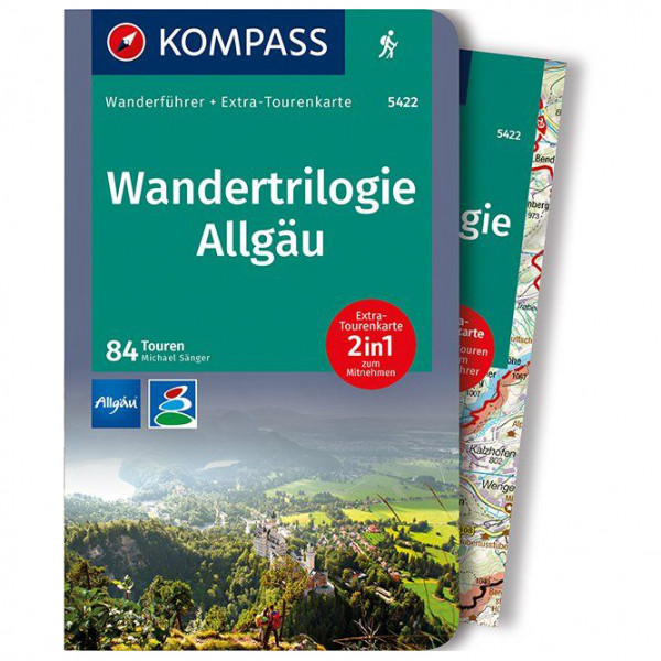 Kompass - Wandertrilogie Allgäu - Walking guide book