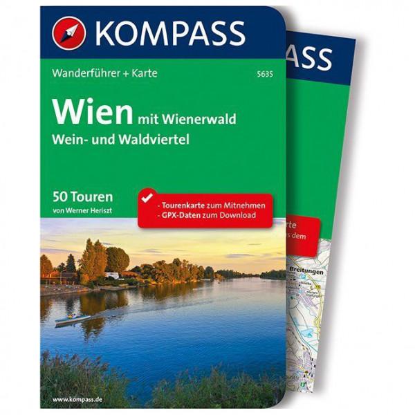 Kompass - Wien mit Wienerwald, Wein- und Waldviertel - Vaellusoppaat