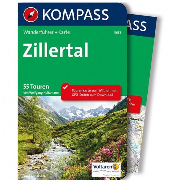 Kompass - Zillertal - Walking guide book