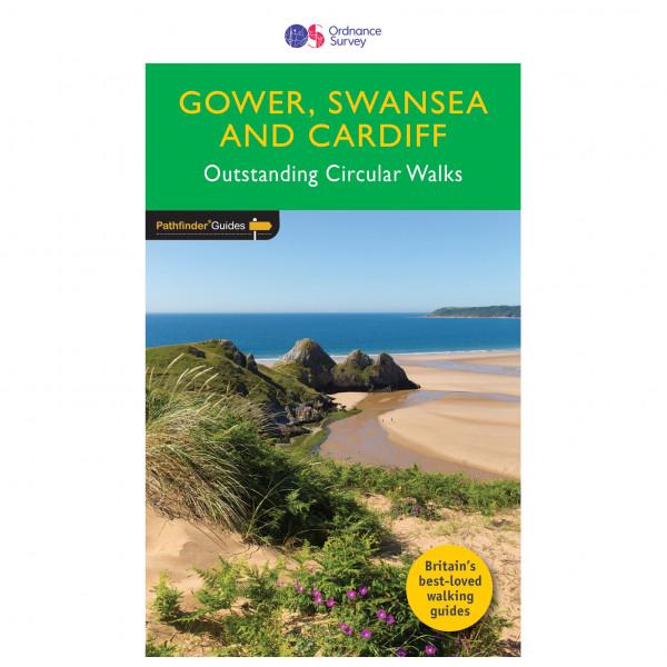 Ordnance Survey - Gower / Swansea / Cardiff Pathfinder - Guide de randonnée