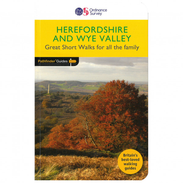 Ordnance Survey - Herefordshire & The Wye Valley - Vandreguides