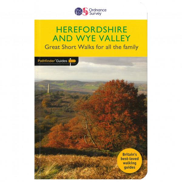 Ordnance Survey - Herefordshire & The Wye Valley - Wandelgidsen