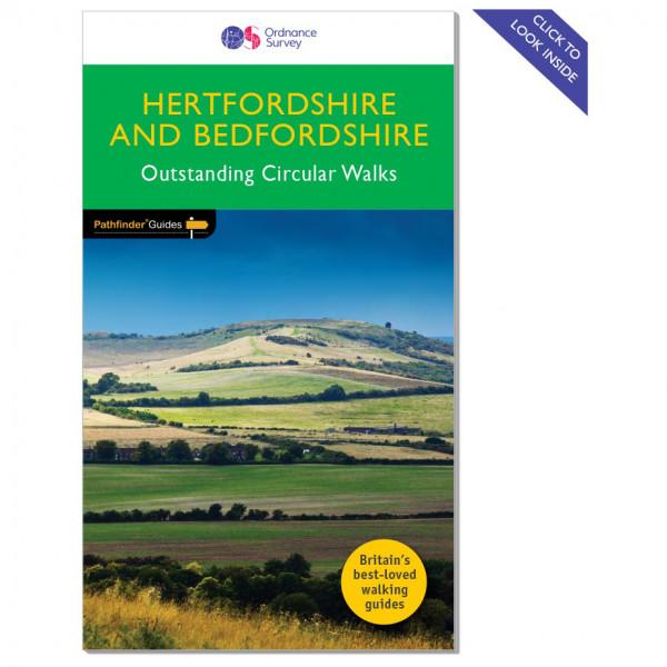 Ordnance Survey - Hertfordshire / Bedfordshire Pathfinder - Vandringsguider
