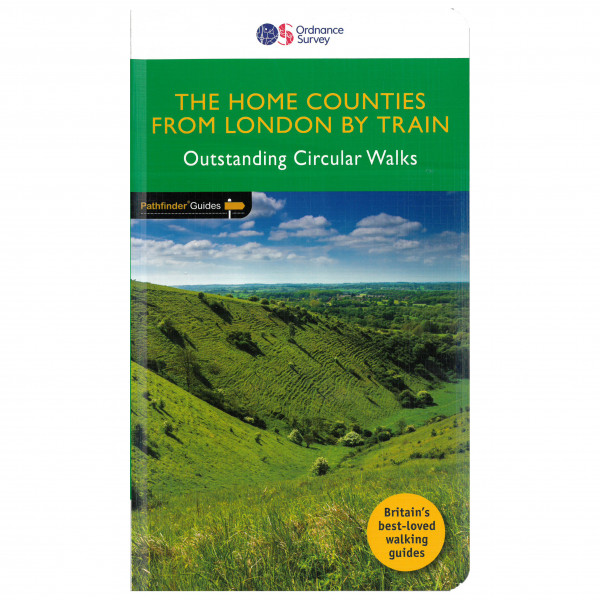Ordnance Survey - Home Counties From London By Train Pathfinder - Walking guide book