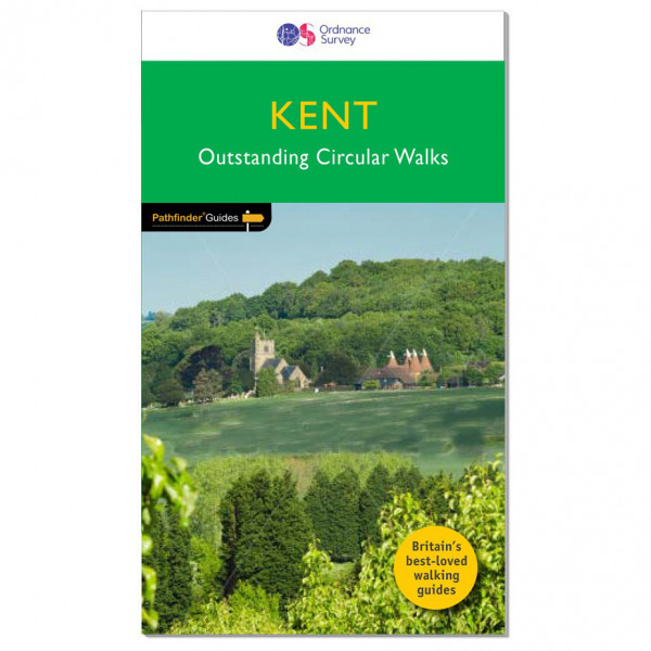 Ordnance Survey - Kent Pathfinder - Walking guide book