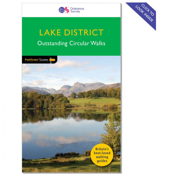 Ordnance Survey - Lake District Pathfinder - Walking guide book