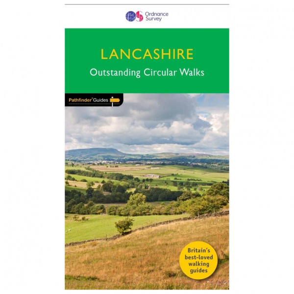 Ordnance Survey - Lancashire Pathfinder - Walking guide book