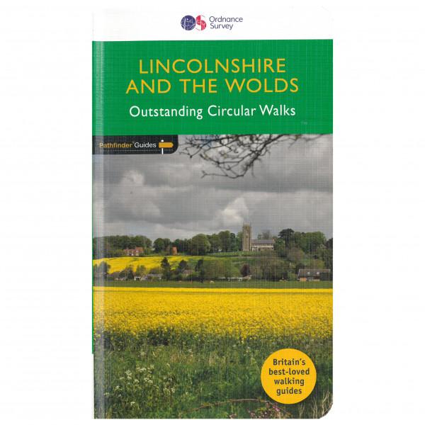 Ordnance Survey - Lincolnshire & The Wolds Pathfinder PG050 - Wanderführer