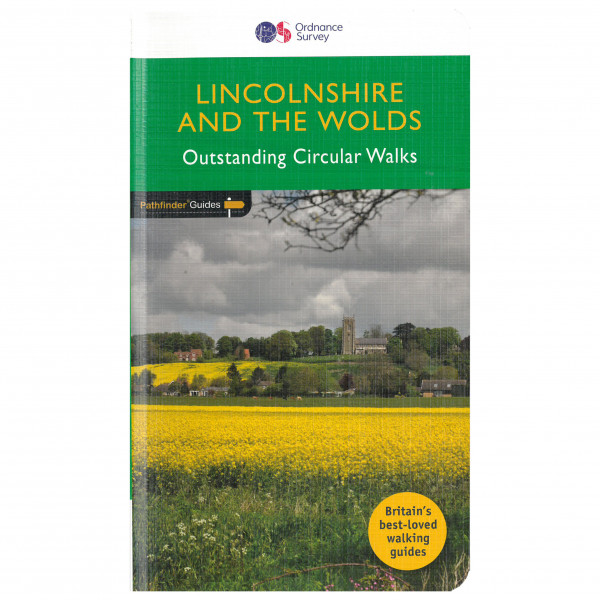 Ordnance Survey - Lincolnshire & The Wolds Pathfinder - Vandringsguider