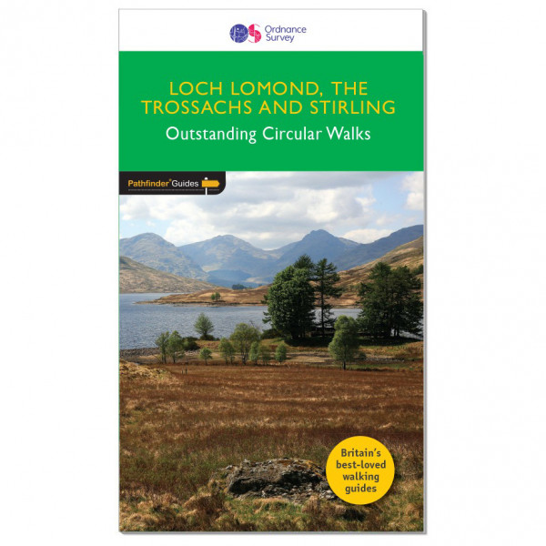 Ordnance Survey - Loch Lomond / Trossachs / Stirling Pathfinder - Vaellusoppaat